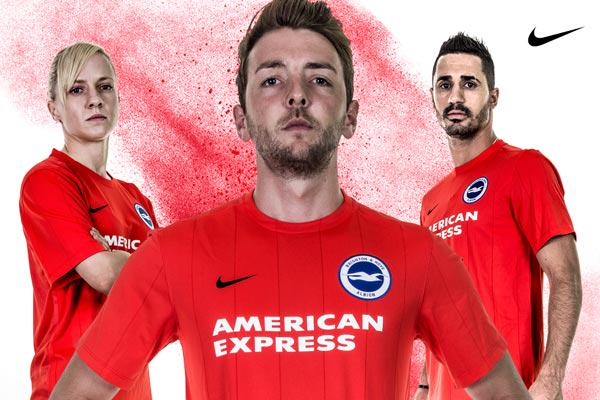 Brighton Third Kit 15 16