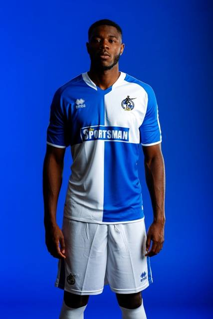 Bristol Rovers Home Shirt 2015 16