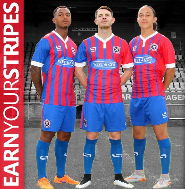 Dagenham and Redbridge Home Kit 2015 16