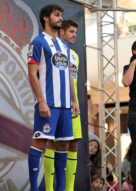 Deportivo La Coruna Home Shirt 15 16