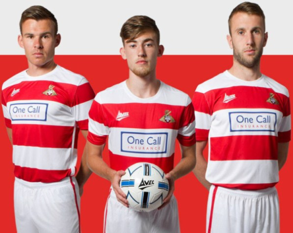 Doncaster Rovers Home Kit 2015 16