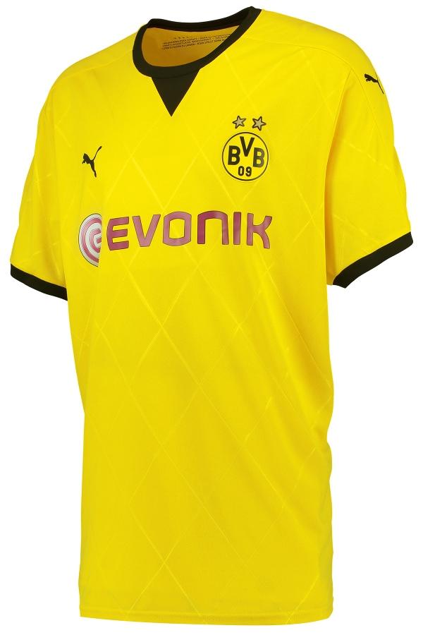 1e9473a66 New Borussia Dortmund European Jersey 2015-16 BVB Ambassador Shirt ...