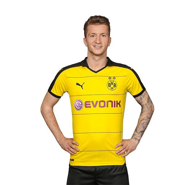 size 40 a4198 4c1f7 New Borussia Dortmund Kits 2015-16- BVB Home Third Jerseys ...
