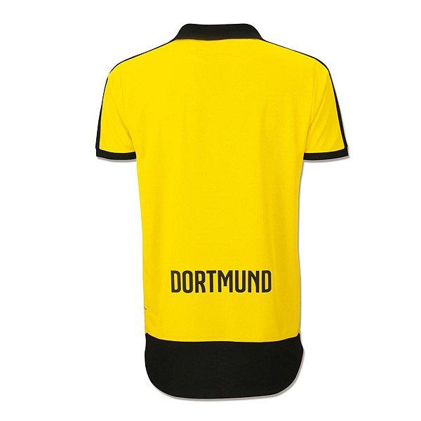 Dortmund Home Shirt Back