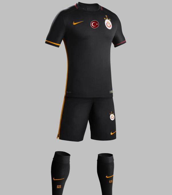 Galatasaray Away Kit 15 16