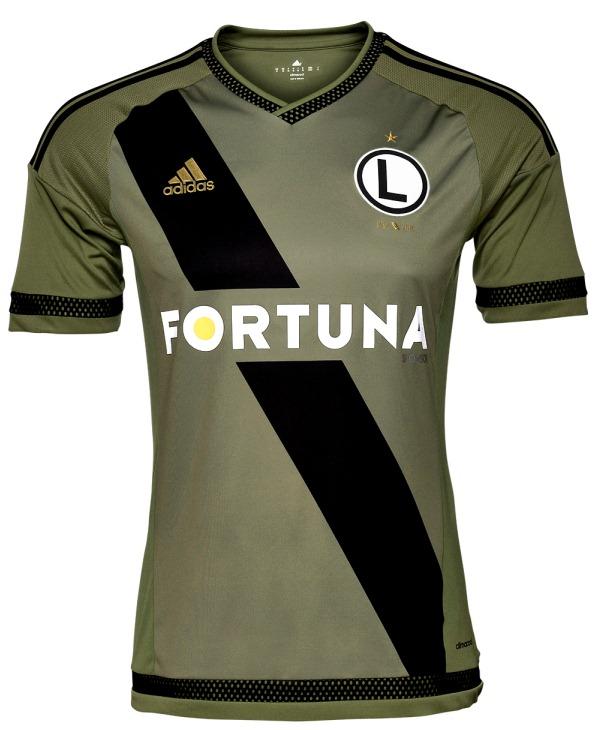 Green Legia Jersey 2015 2016
