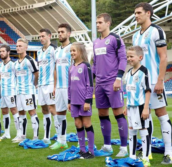 Huddersfield Town Home Kit 15 16