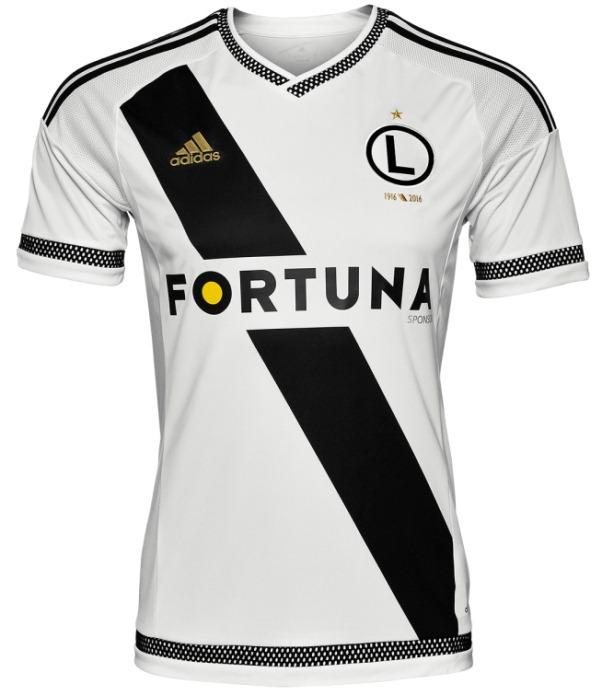 Legia Warsaw Shirt 2015 16