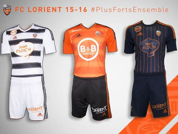 Lorient Kit 2015 16