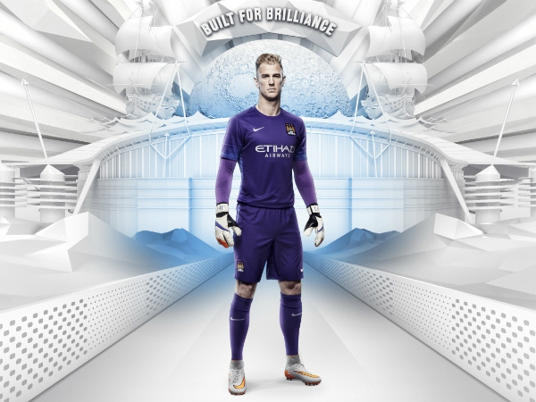 Man City Goalkeeper Kit 15 16