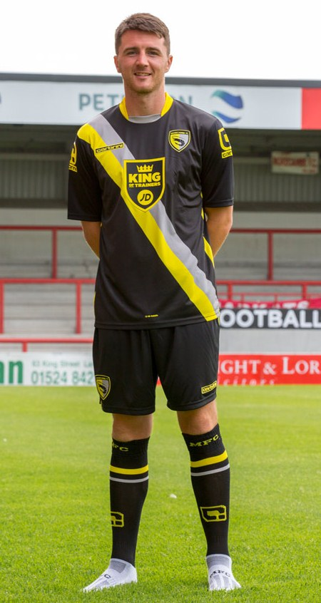 Morecambe Away Kit 2015 16