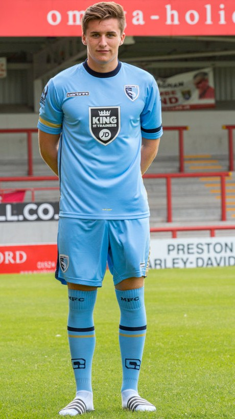 Morecambe Third Shirt 2015 2016
