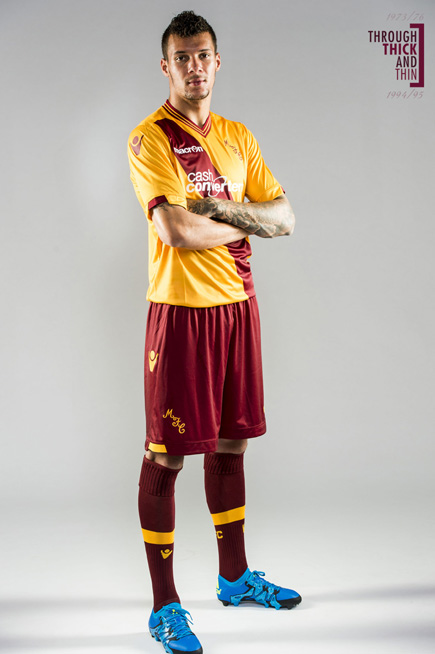 Motherwell Macron Kit 15 16