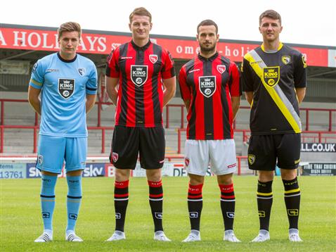New Morecambe Kit 2015 16