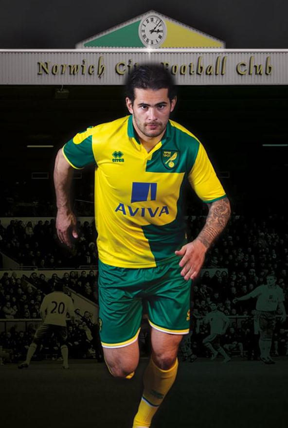 New Norwich Kit 2015 16
