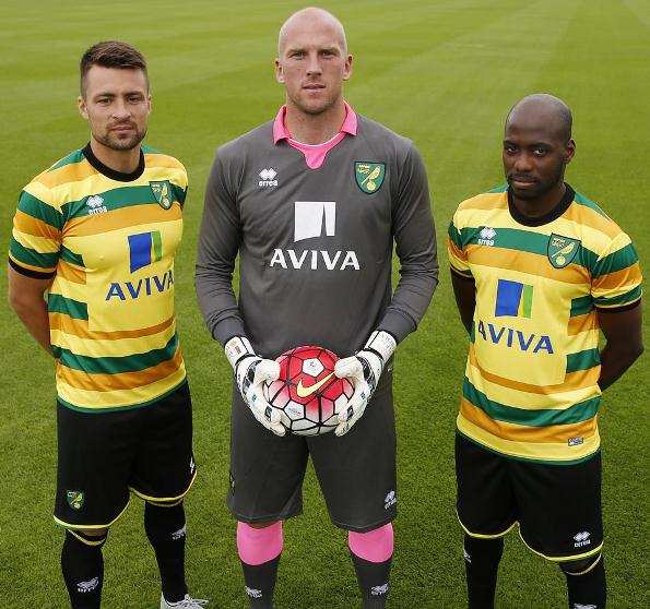 Norwich Third Kit 2015 16