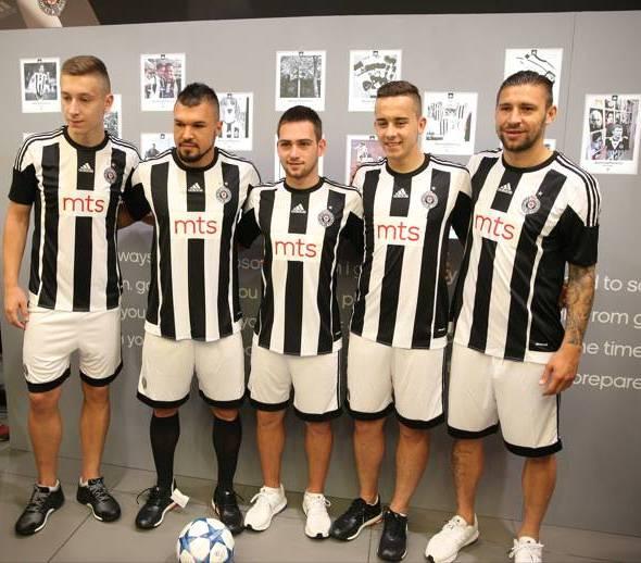 Partizan Belgrade Kit 2015 16