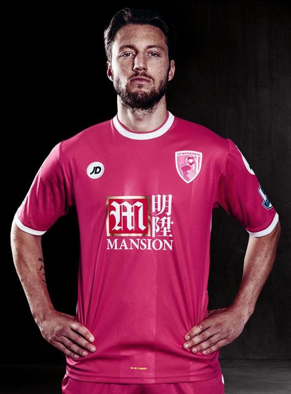Pink Bournemouth Kit 15 16