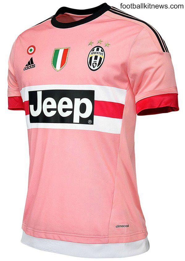 Pink Juventus Shirt 2015 16