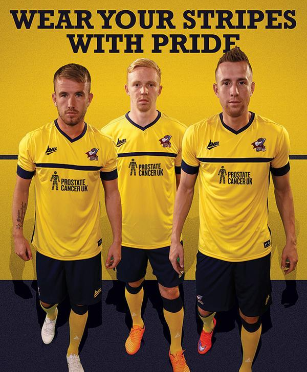 Scunthorpe United Away Kit 2015 16