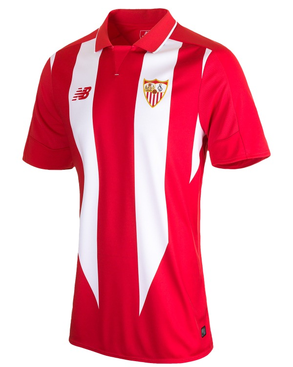 1b56b686096 Sevilla New Balance Kits 2015-2016- Sevilla FC Jerseys 15-16 Home ...