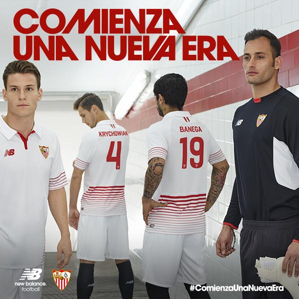 Sevilla new balance kits 2015 2016 sevilla fc jerseys 15 - Nouveau sevilla ...