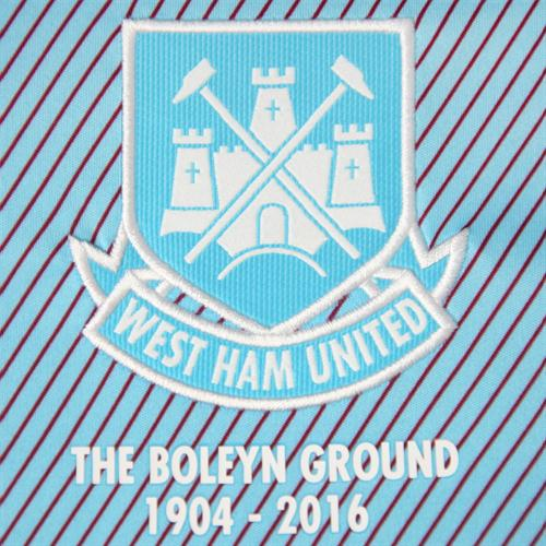 West Ham Away Kit Crest 2015 2016