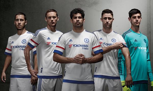 White Chelsea Away Kit 2015 16