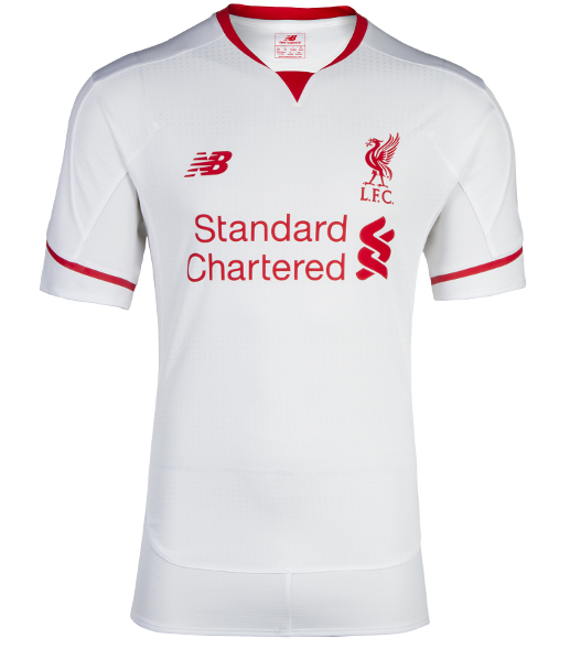White Liverpool Shirt 2015 2016