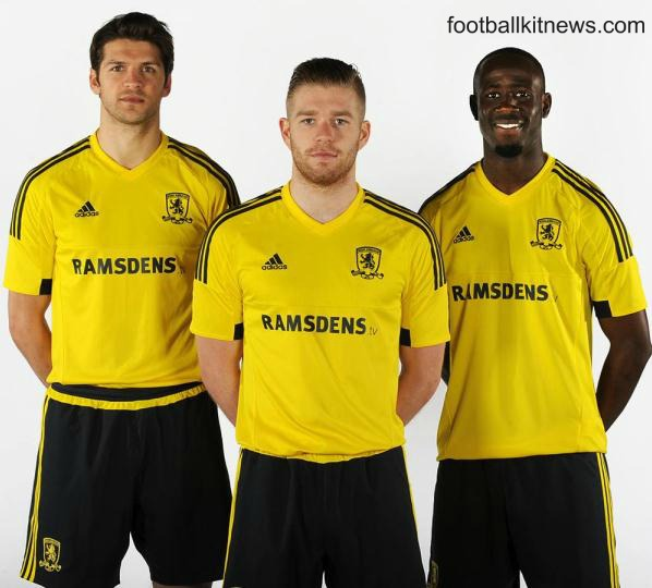 Yellow Boro Kit 2015 16