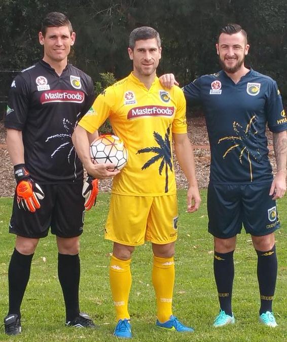 Central Coast Mariners Jersey 2015 16