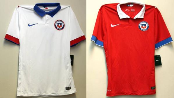 Chile Nike Shirt 2015 16
