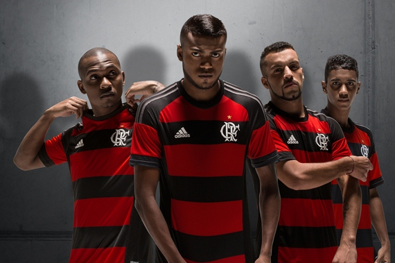 Flamengo Home Jersey 2015 2016
