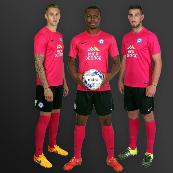 Pink Peterborough Kit 2015 16