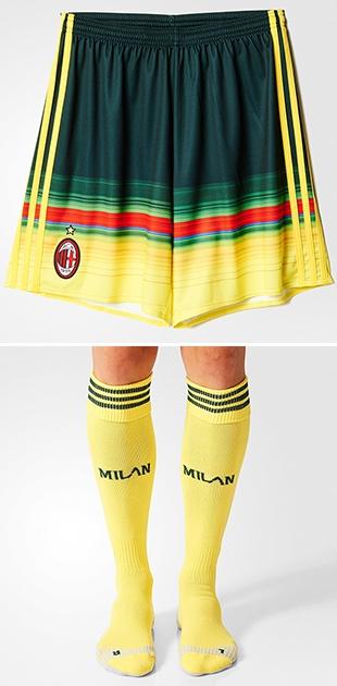 AC Milan Third Shorts 15 16