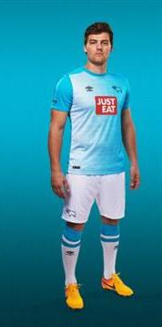 Derby County Third Kit 15 16