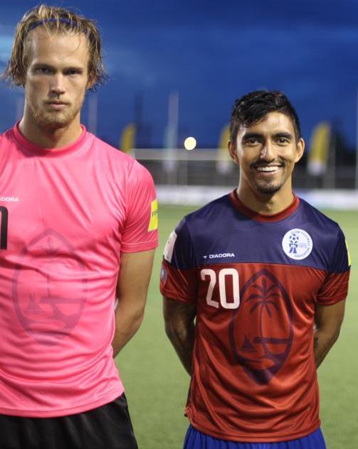 Diadora Guam Soccer Jersey 2015 2016