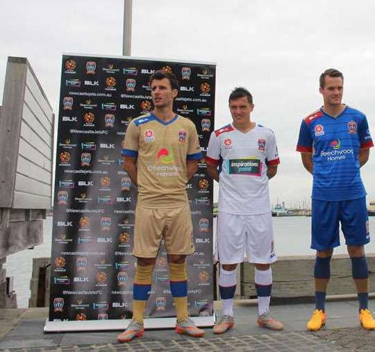 Newcastle Jets Jersey 2015 2016