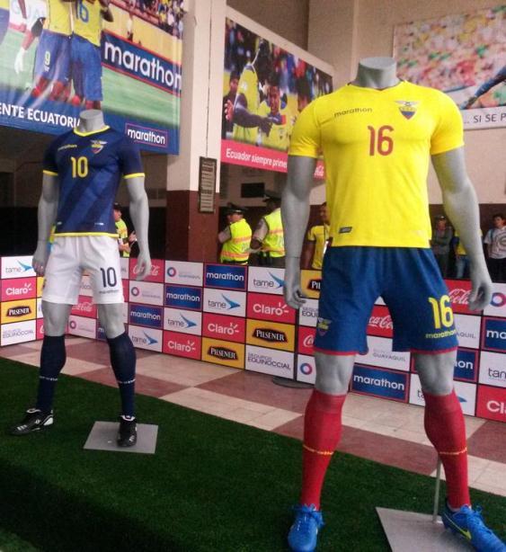 Ecuador 2016 Jersey