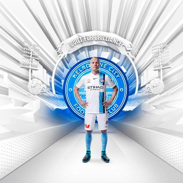 Melbourne City Home Jersey 2015 16