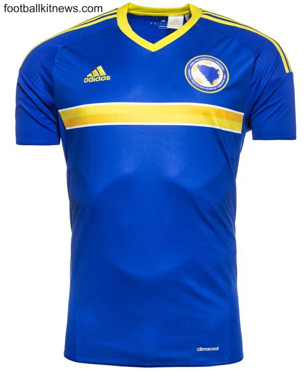 BIH Euro 2016 Jersey