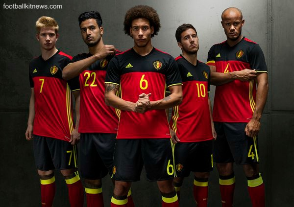Belgium Euro 2016 Jersey