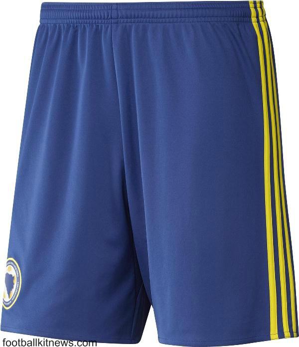 Bosnia Football Shorts 2016 17
