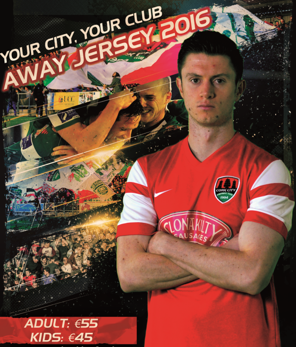 Cork City FC Away Jersey 2016
