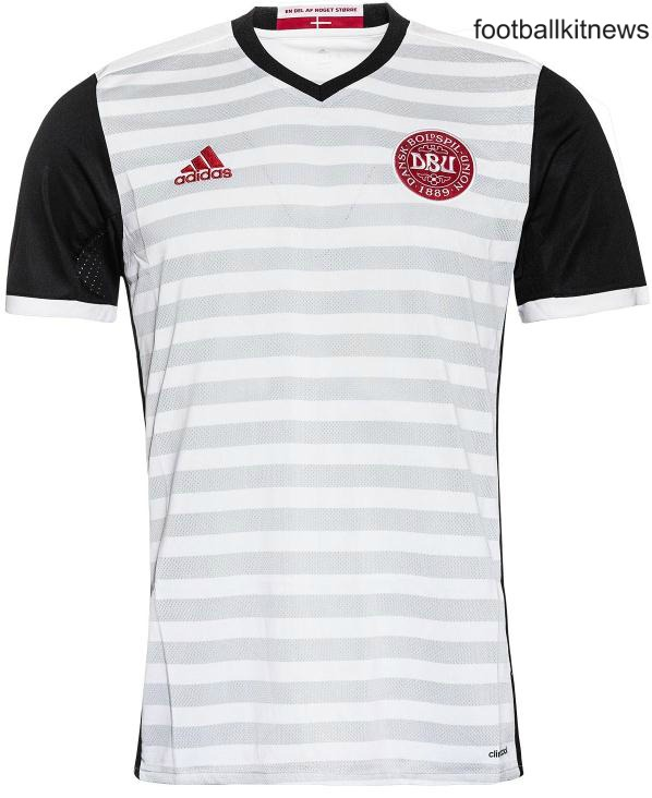 Denmark Away Jersey Euro 2016