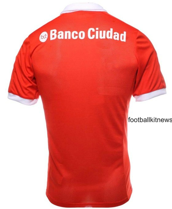 Independiente Kit 2016 Back