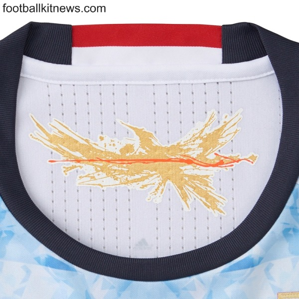 Japan Away Shirt Closeup