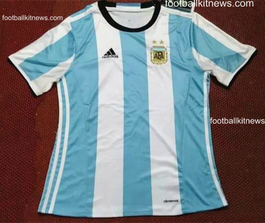 Leaked Potential Argentina Copa Centenario 2016 Jersey