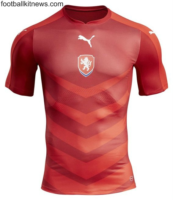 New Czech Republic Shirt Euro 2016