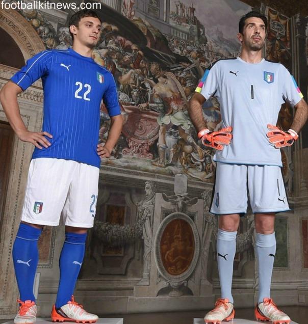 New Italy Euro 2016 Kit